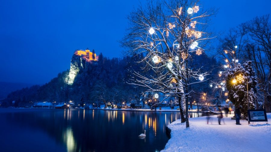 New Year's Eve in Bled