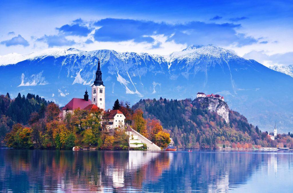 Lake Bled and island